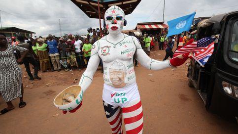 Campaña presidencial en Liberia