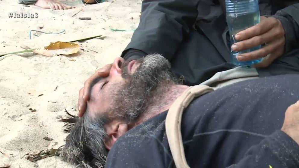 Chus, obligado a abandonar 'La isla' por problemas de salud tras un desmayo