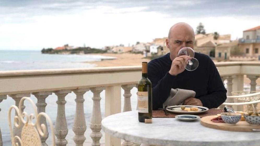 Foto: El comisario Montalbano, creado por Andrea Camilleri, en un fotograma de la serie de televisión.