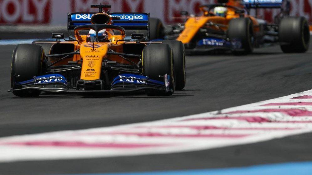 Foto: Carlos Sainz fue el mejor 'del resto' en el Gran Premio de Francia, por delante de Renault y el Red Bull de Pierre Gasly