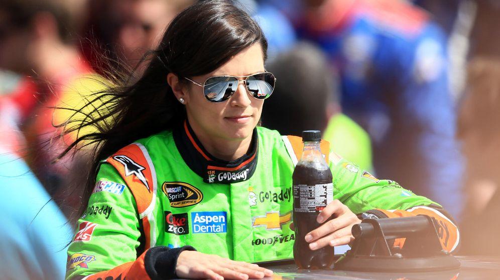 Foto: Danica Patric en la Daytona 500 de la NASCAR (Foto: Reuters / Andrew Weber-USA TODAY Sports)