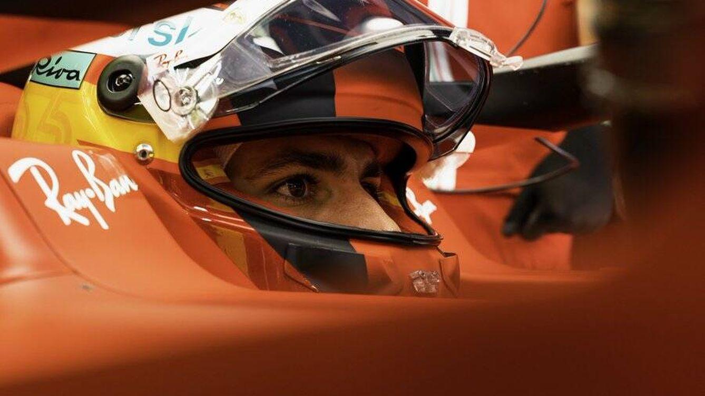 Cuando en Francia se vio al mejor Carlos Sainz en Ferrari, en el peor día para Ferrari