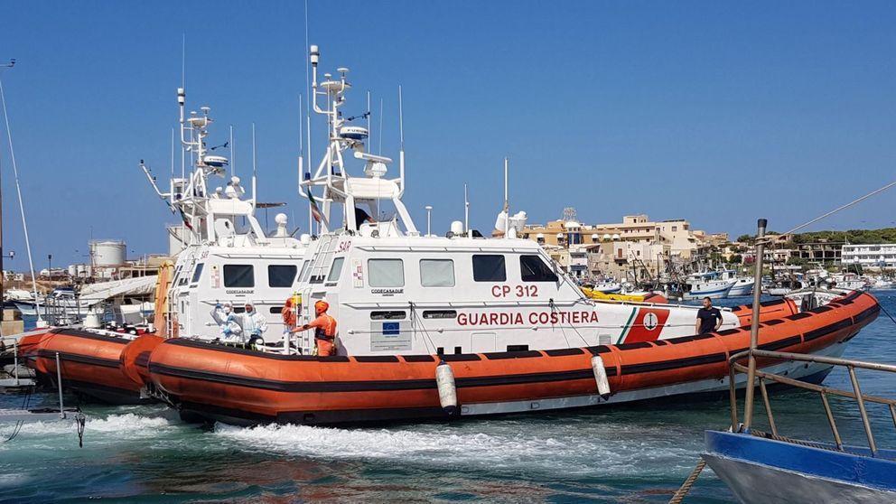 Mientras Italia veta al Open Arms, llegan a Lampedusa otros 108 migrantres en 48 horas