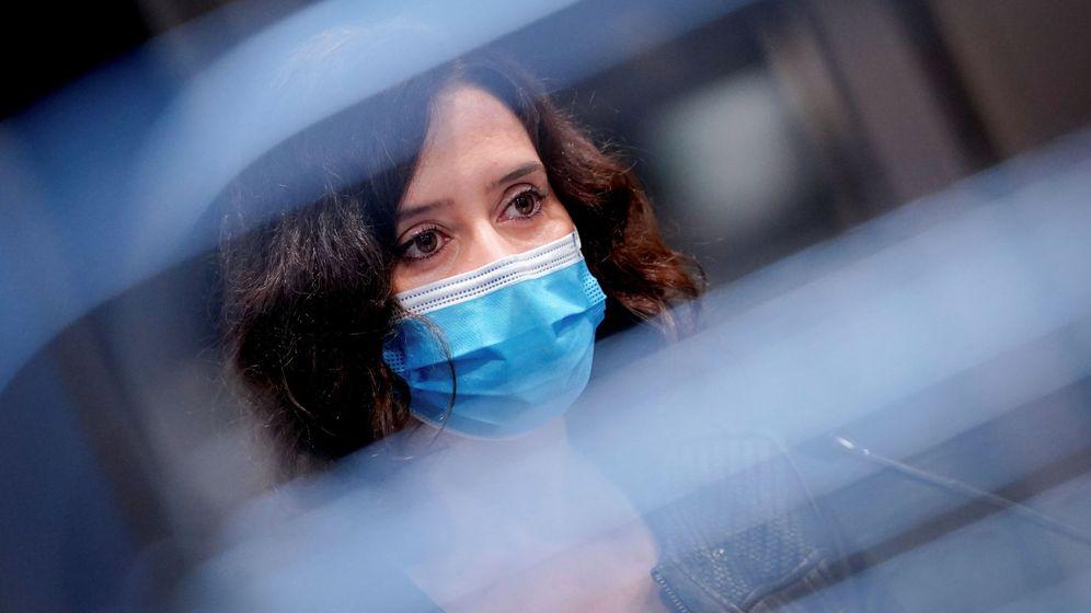 Foto: La presidenta de la Comunidad de Madrid, Isabel Díaz Ayuso. (EFE)