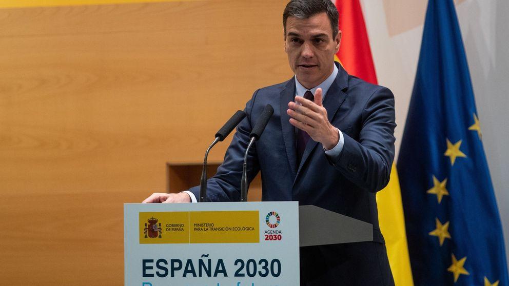 Sánchez promete 25.000 M de PIB al año con su plan energético en plena carrera electoral