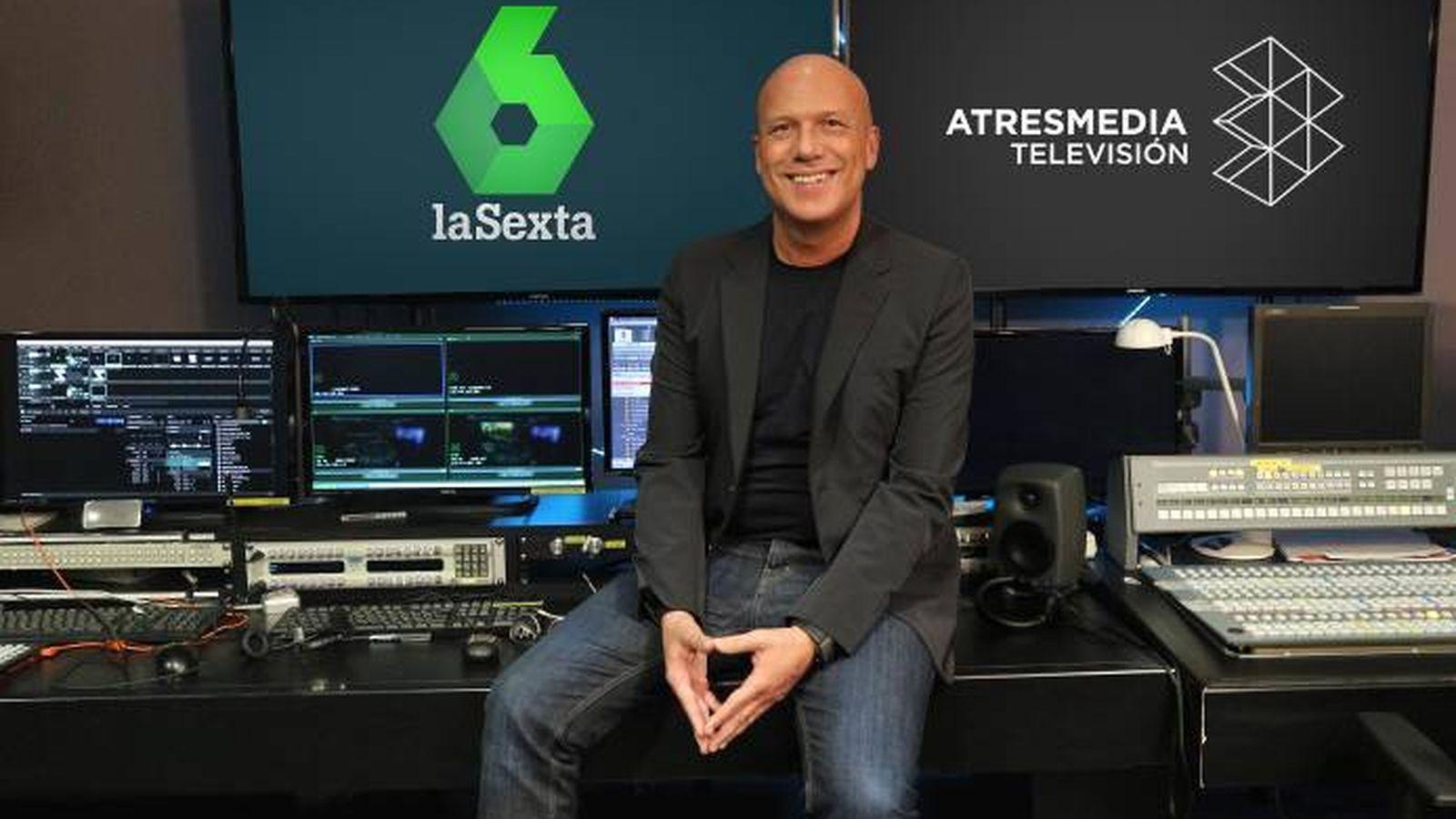 Foto: Alfonso Arús posa en Atresmedia Televisión. (Atresmedia)