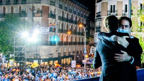 García Egea saca pecho de la victoria de Ayuso... pero sin Ayuso