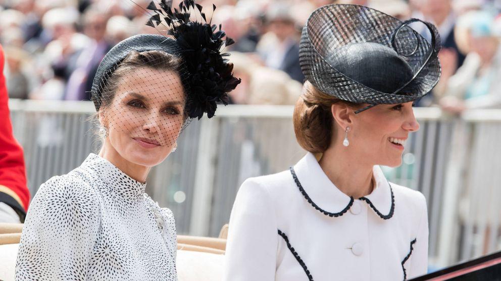 Cuando Letizia conoció a Kate Middleton: 8 detalles de la Jarretera, un año después