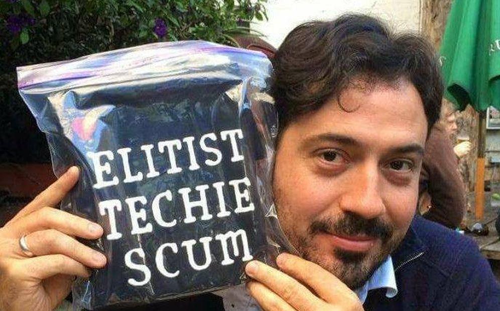 Foto: El escritor, exempleado de Facebook y Twitter, Antonio García Martínez.
