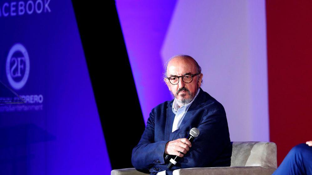 Foto: El fundador de Mediapro, Jaume Roures, en un acto. (EFE)