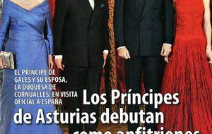La visita inglesa, la boda de Ana de Armas y el vestido rojo de Letizia