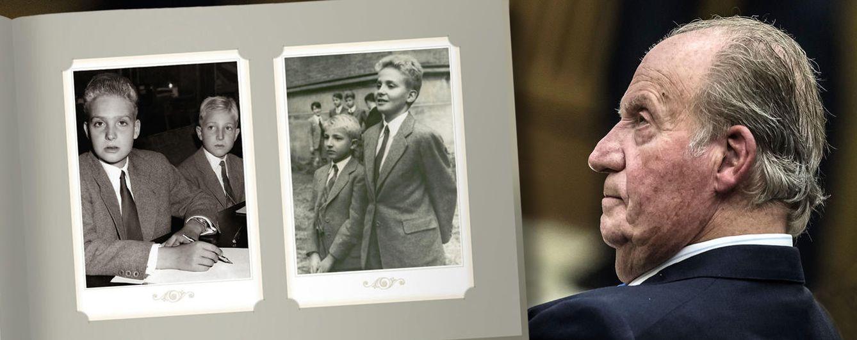 Foto: Imágenes de Don Juan Carlos y el infante Alonso en un fotomontaje de Vanitatis
