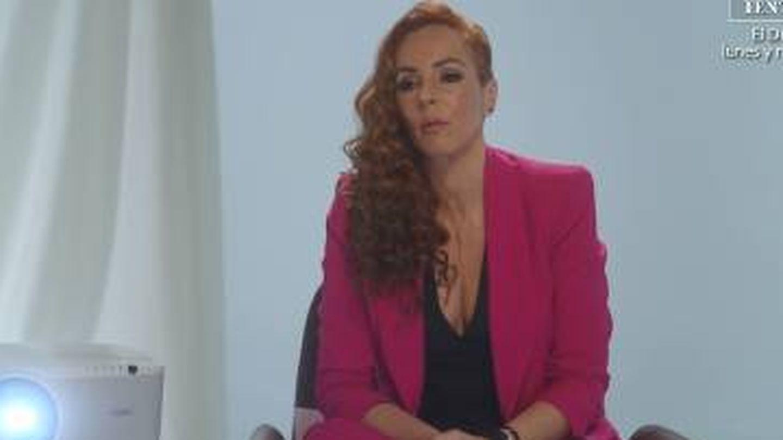 Rocío Carrasco, en el programa.