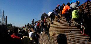 Post de EEUU cierra parte de la frontera en Tijuana tras el intento de asalto de migrantes