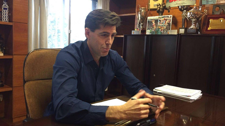 Foto: Raúl Chapado, durante la entrevista con El Confidencial.