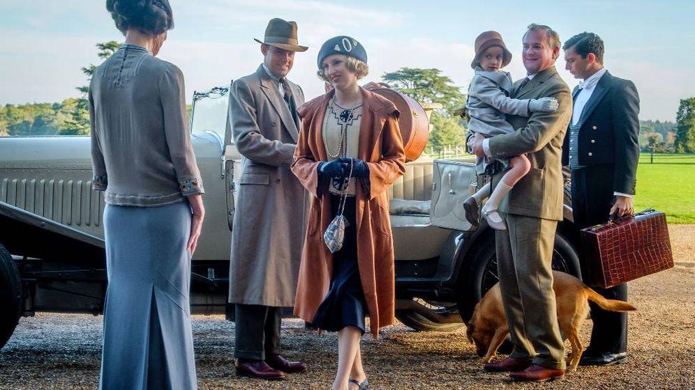 Foto: Una de las escenas de la película de 'Downton Abbey'. (Cortesía)