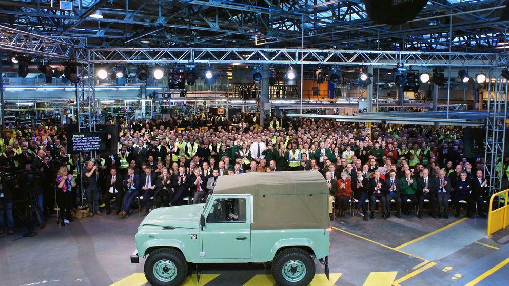 El Land Rover Defender dice adiós