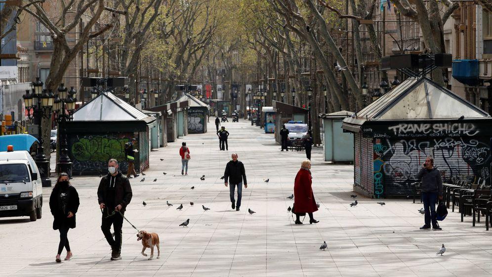 Foto: Las Ramblas de Barcelona. (Reuters)