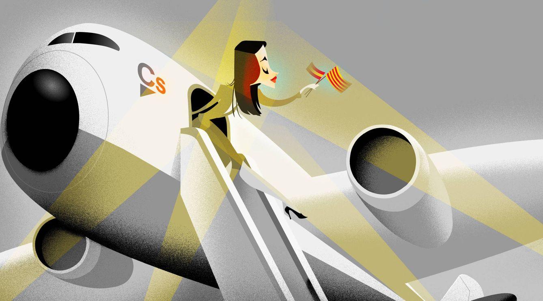 Foto: Ilustración de Inés Arrimadas. (Raúl Arias)