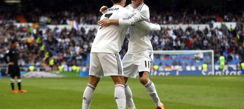 Foto: Cristiano Ronaldo y Gareth Bale están entendiéndose en el terreno de juego.
