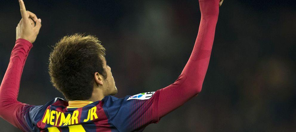 Foto: El jugador del Barcelona Neymar (Efe)