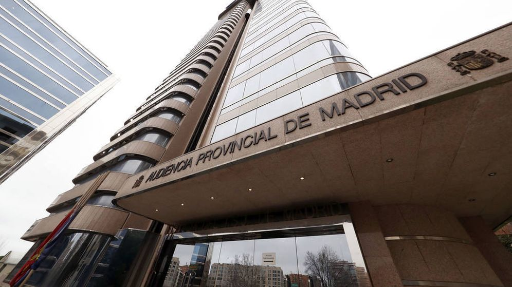 Foto: Fachada de la Audiencia Provincial de Madrid. (EFE)