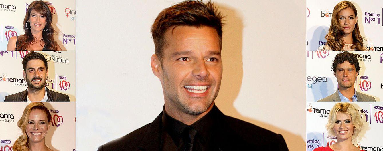 Foto: Ricky Martin, el protagonista de los Premios Cadena 100