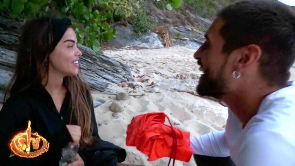 La declaración de amor entre Violeta y Fabio en 'Supervivientes 2019': Te quiero