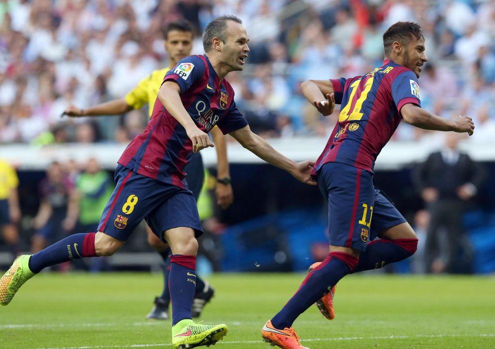 Foto: Iniesta es el único jugador español que repite del 2013 (EFE)