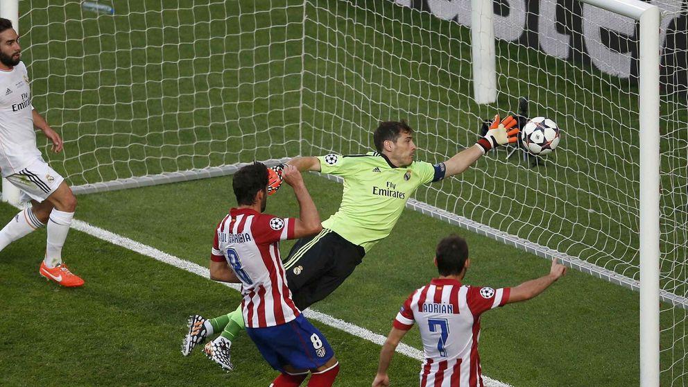 Iker Casillas al encajar ese gol absurdo se vino abajo en la final