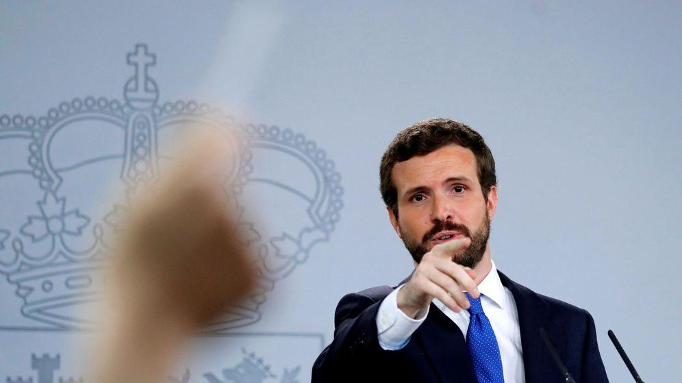 Foto: El líder Partido Popular, Pablo Casado. (EFE)