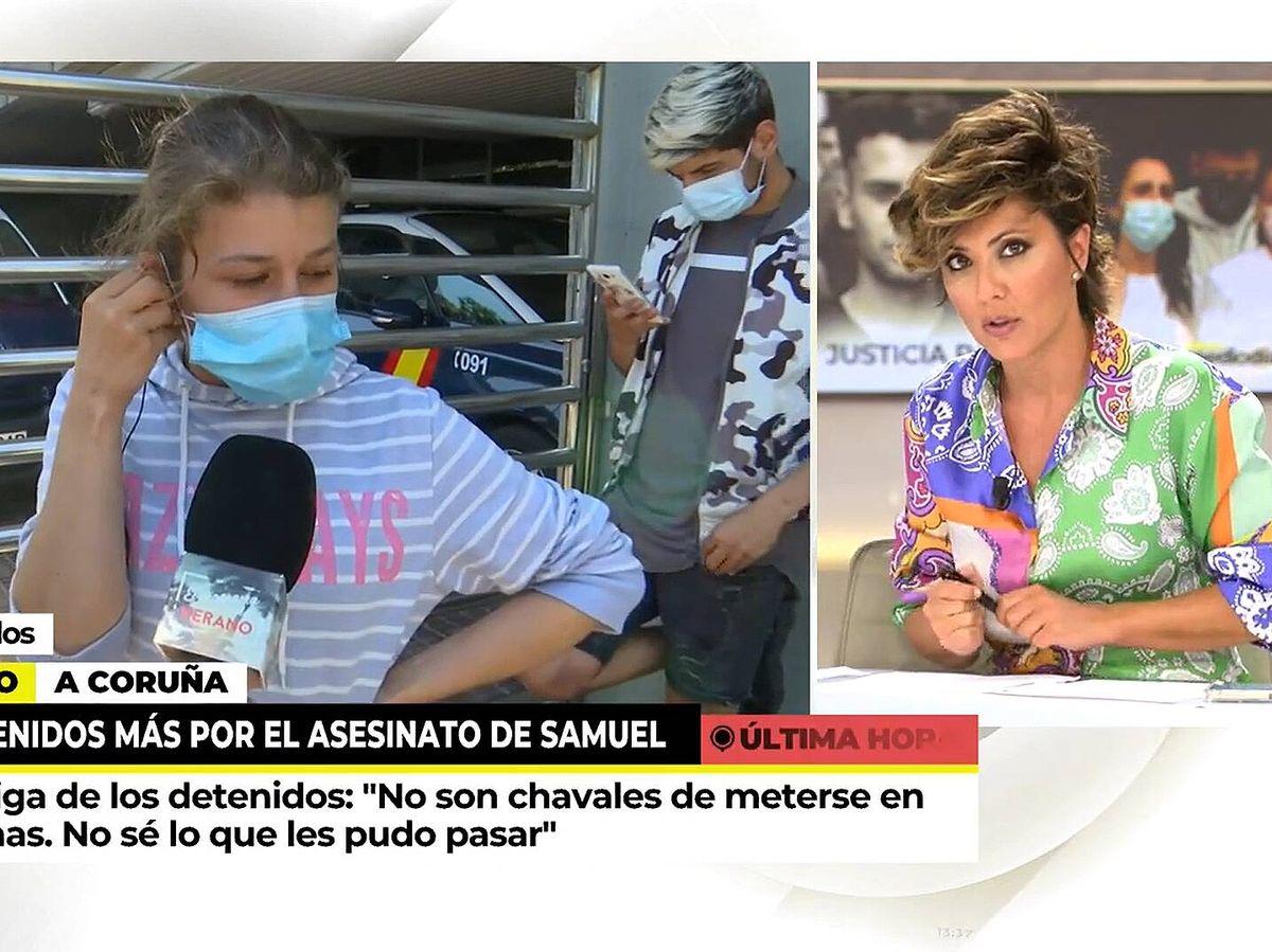 Foto: Sonsoles Ónega, en 'Ya es mediodía'. (Mediaset)