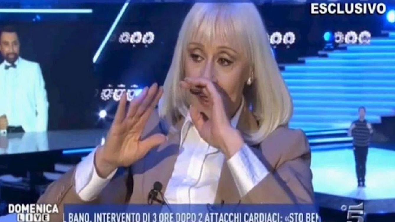 Raffaella Carrá anuncia, emocionada, su retirada de la televisión
