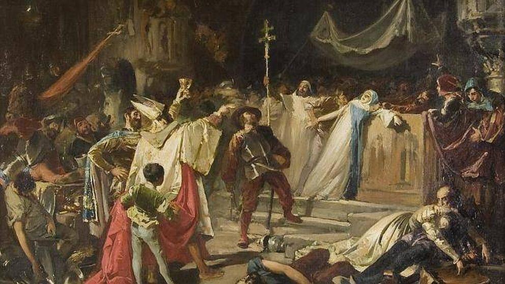 El saqueo de Roma por las tropas españolas