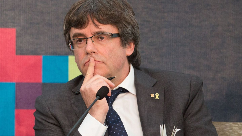 El expresidente de la Generalitat, Carles Puigdemont. (EFE)