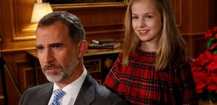 Post de Leonor, la protagonista del discurso navideño del Rey (y del 2018 en Zarzuela)