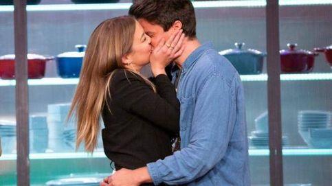 Luna y Alberto confirman su amor en 'MasterChef': de la cobra al beso final