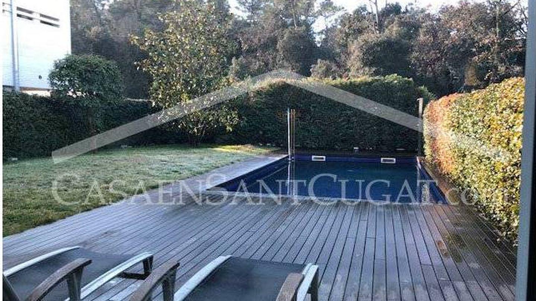 Portal inmobiliario que vende la casa de Diego Torres en Sant Cugat.