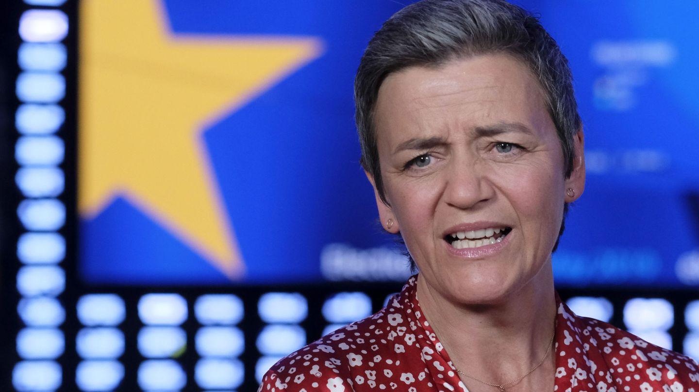 Margrethe Vestager durante un debate electoral europeo en 2019. (EFE)