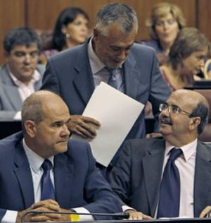 Zarrías se alió con Griñán para despojar a Chaves del liderazgo del PSOE andaluz