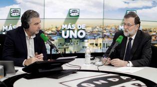 Rajoy revienta los audímetros de Atresmedia (aunque las encuestas digan lo contrario)