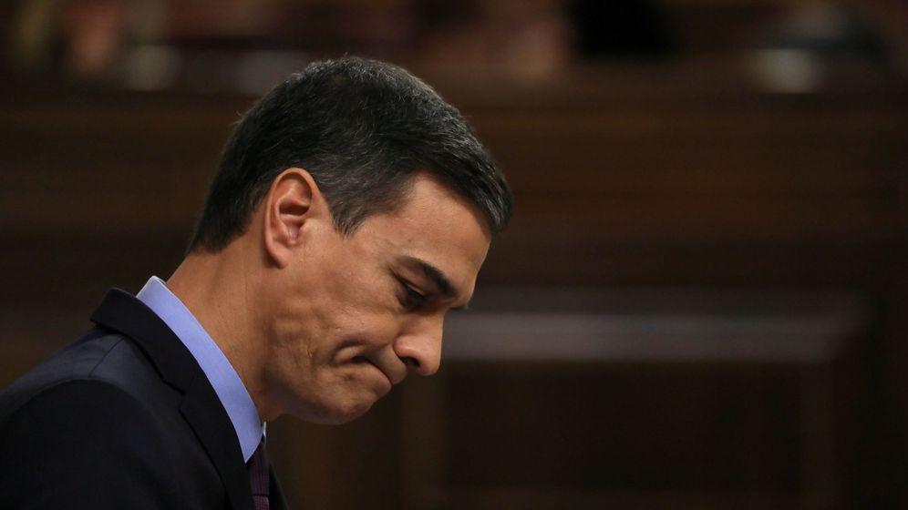Foto: Pedro Sánchez, durante su comparecencia en el Congreso sobre Cataluña, este 12 de diciembre. (Reuters)