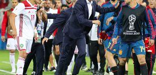 Post de Fernando Hierro, el interino que no demuestra ser un entrenador de verdad