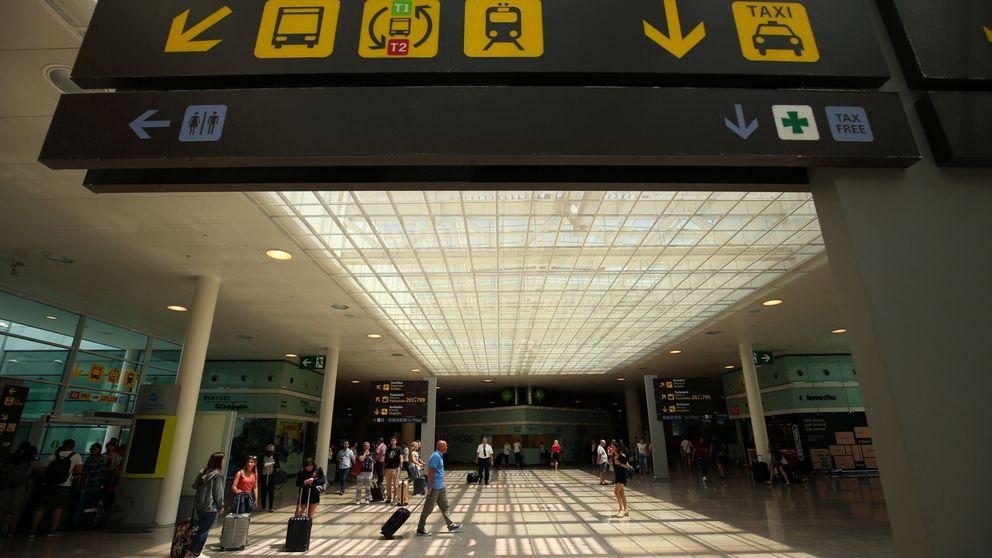 Barcelona-El Prat sufre un parón tras el 1-O en el crecimiento de viajeros internacionales