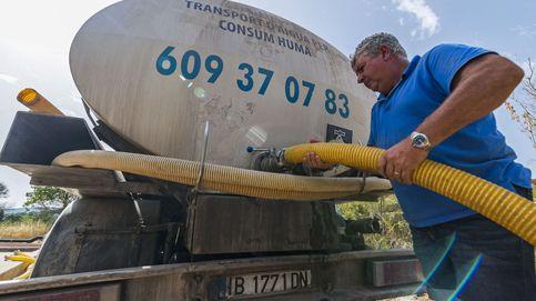 Pueblos de media España se quedan sin agua potable: Los acuíferos están secos