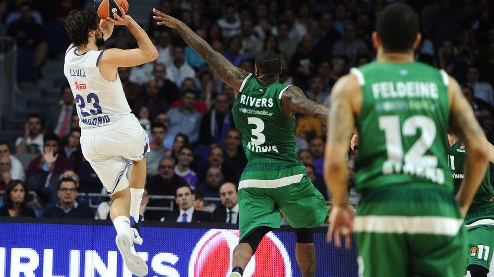 Foto: Sergio Llull consiguió su mejor anotación en la Euroliga (Sonia Cañada/Cordon Press)