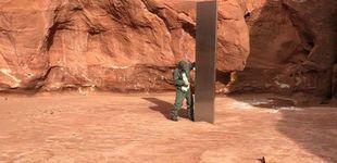 Post de Encuentran un monolito de metal en el desierto de Utah