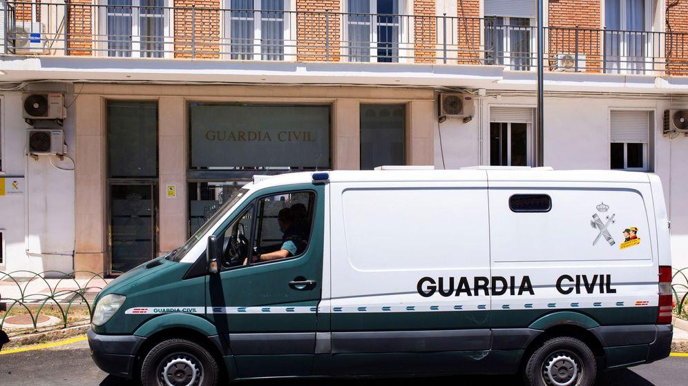 Foto: Fachada de la Comandancia de la Guardia Civil de Málaga. (EFE)