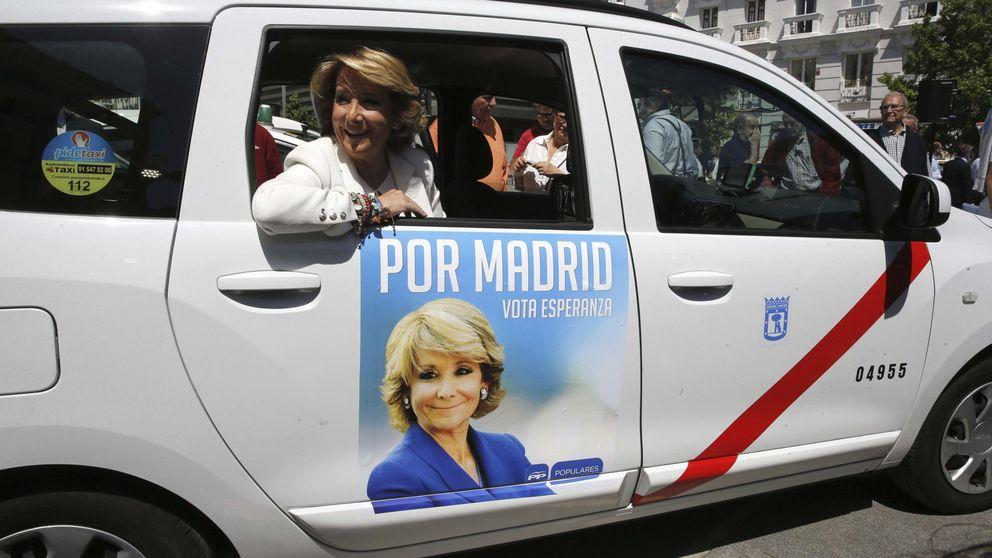 Madrid, Twitter y los taxistas, en pie de guerra por la publicidad del PP en taxis