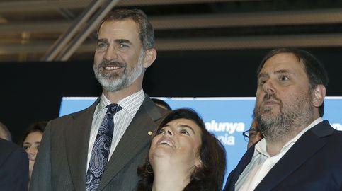 Oriol Junqueras y la vicepresidenta